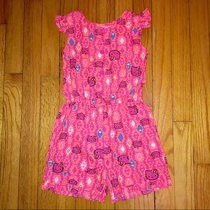 NWOT Hello Kitty Romper Little Girls Size 5